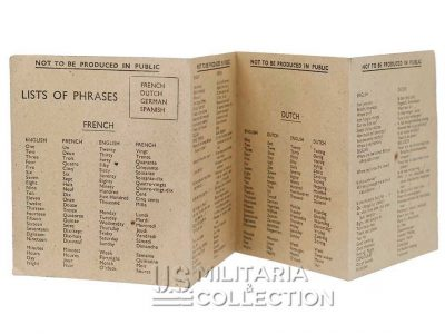 Livret Lists of Phrases
