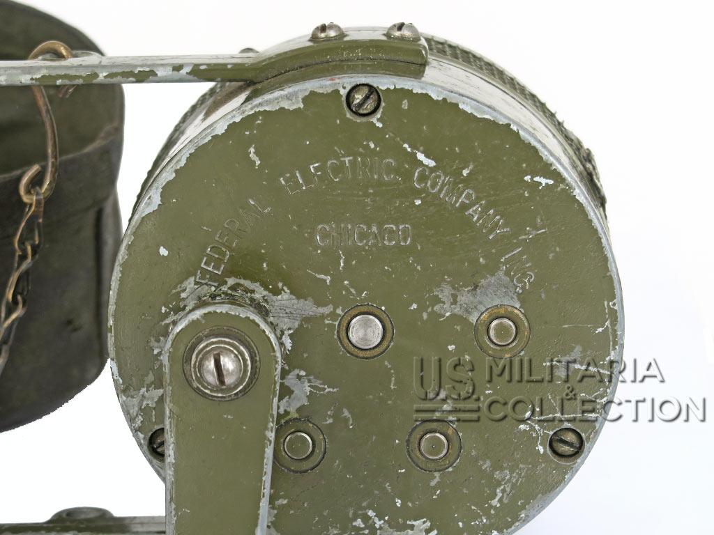 Sirène de raid aérien à main U.S.