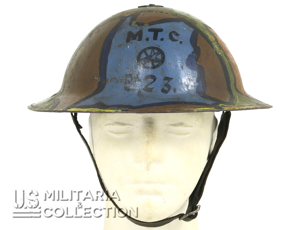 Casque Camouflé 523rd Engineer, Mark I 1916
