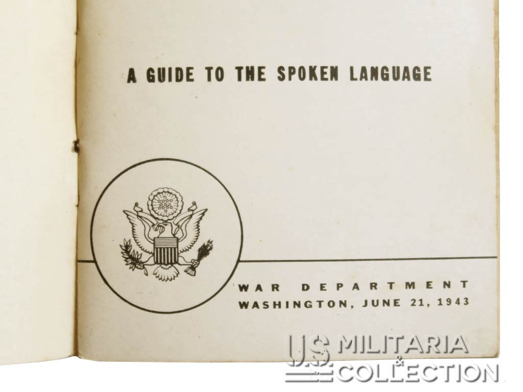 French language guide 1943-1944