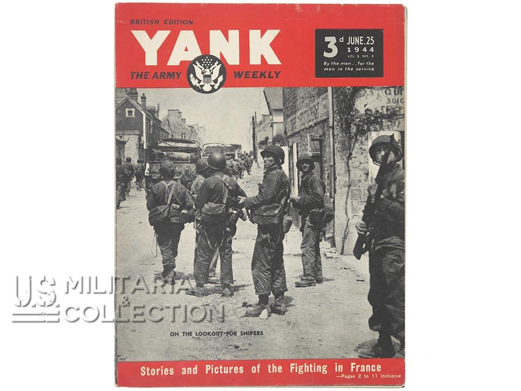 Magazine Yank 25 juin 1944