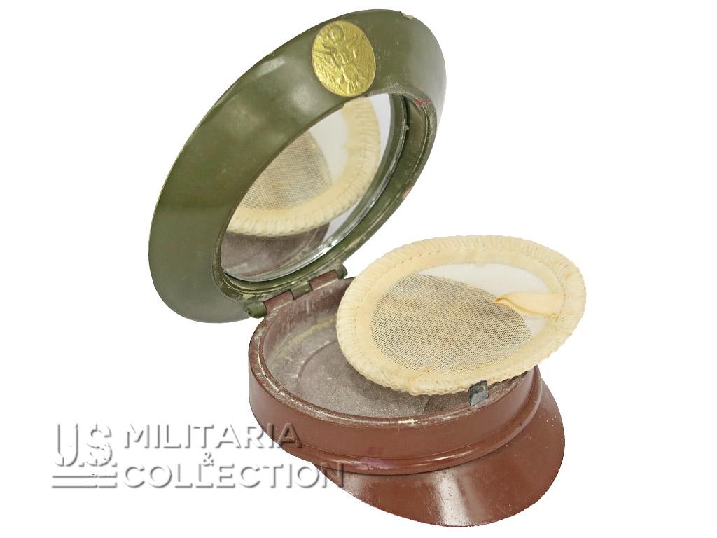 Poudrier féminin de l'US ARMY