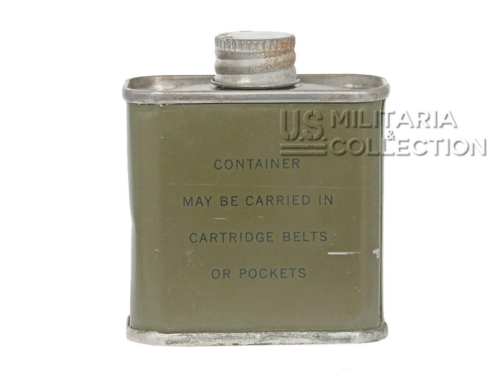 Bidon d'huile US Army