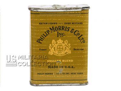 Boite Philip Morris pour cigarettes