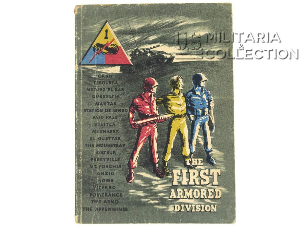 1st Armored Division livret historique