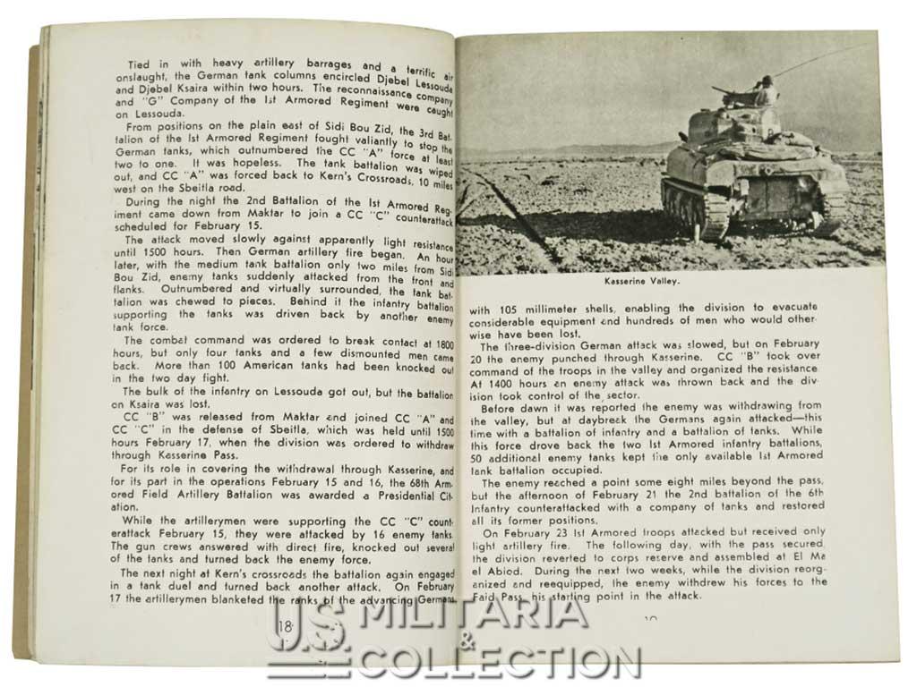 1st Armored Division livret