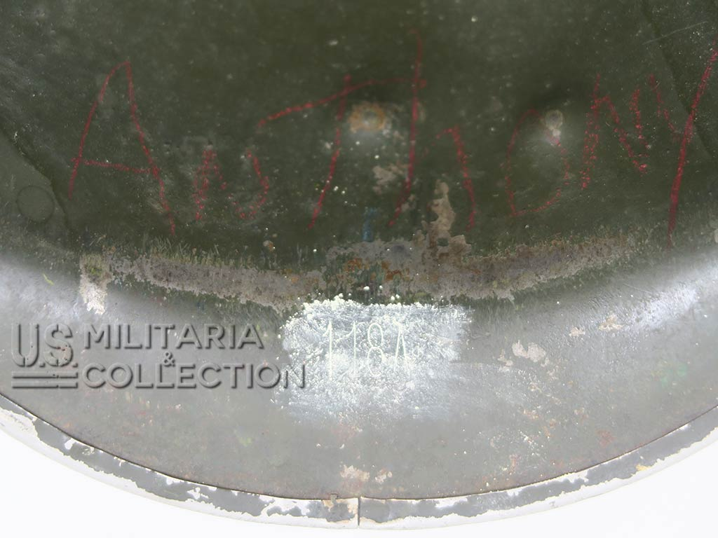 Coque de Casque M1, impacts de balles