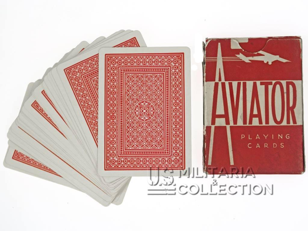 Jeu de cartes US, Aviator 1943