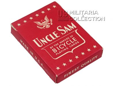 Jeu de Cartes US, Uncle Sam 1942 rouge