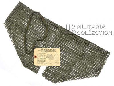 Net Helmet with Band (Filet de casque avec élastique) M1944