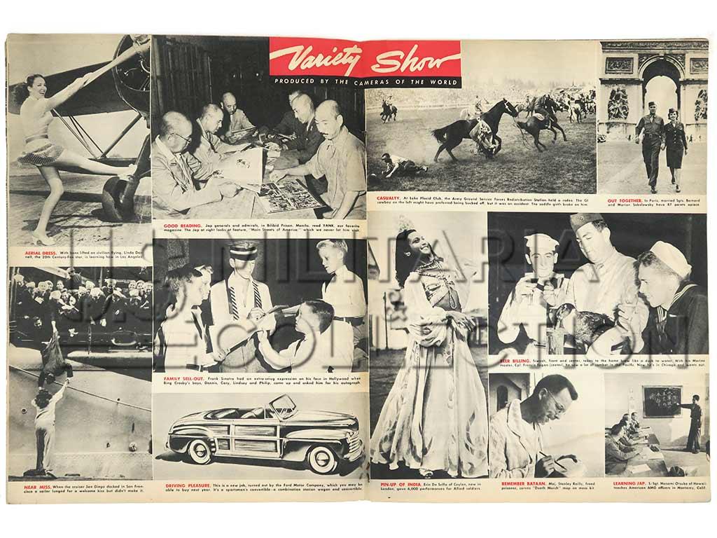 Yank Magazine 26 octobre, 1945