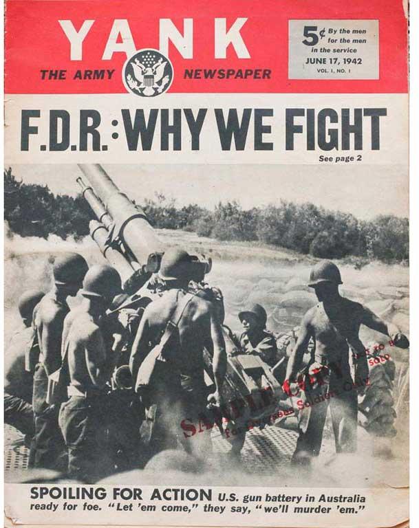Yank Magazine 7 juillet 1942