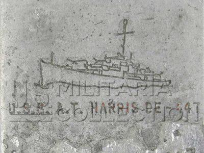 Briquet Berkeley Destroyer T. Harris, (DE 447)