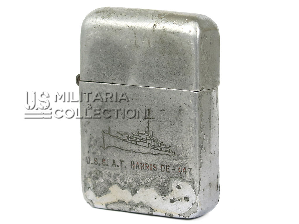 Briquet Berkeley Destroyer T. Harris, (DE 447)