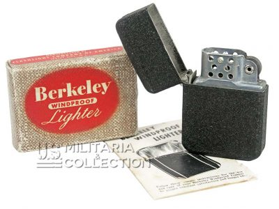 Briquet US Army Berkeley neuf de stock