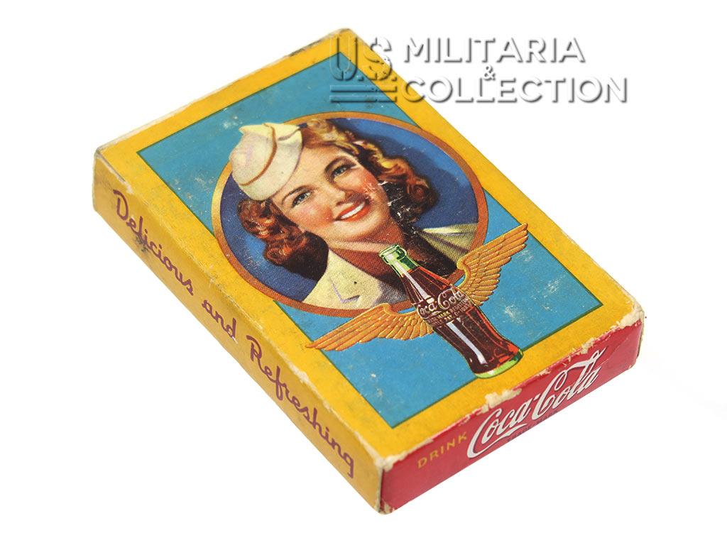Cartes à jouer Coca Cola, 1942/1943
