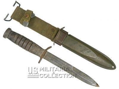 Couteau USM3 Utica FFL, Forces Françaises Libres, identifié