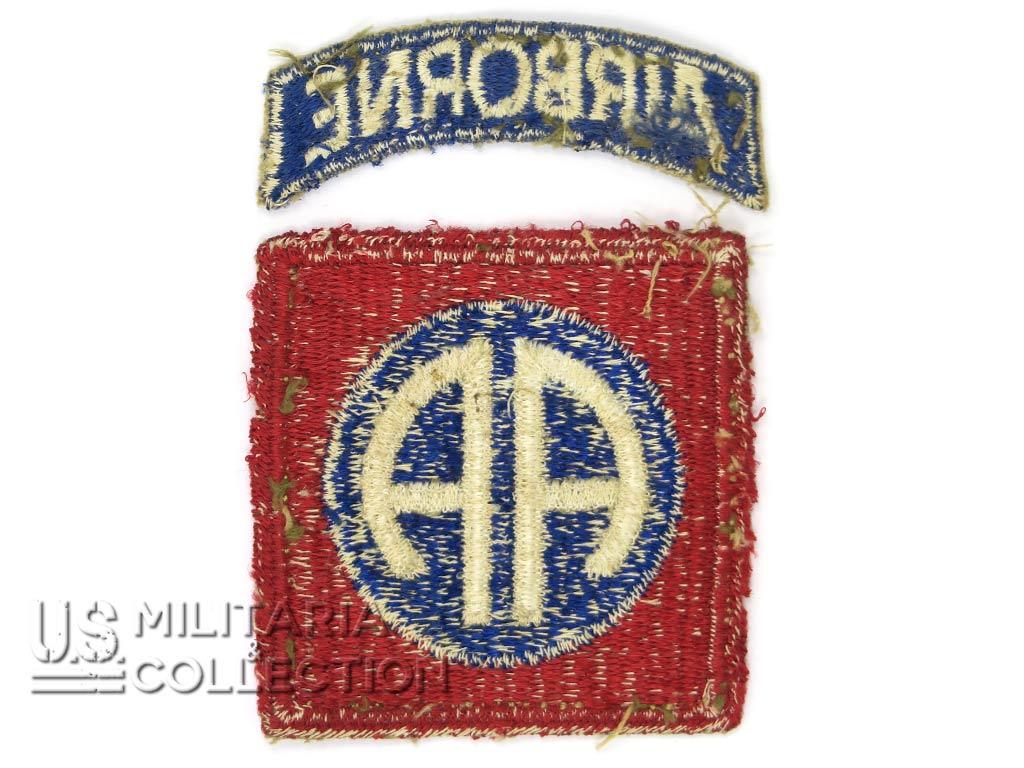 Insigne 82e division aéroportée, typique Normandie