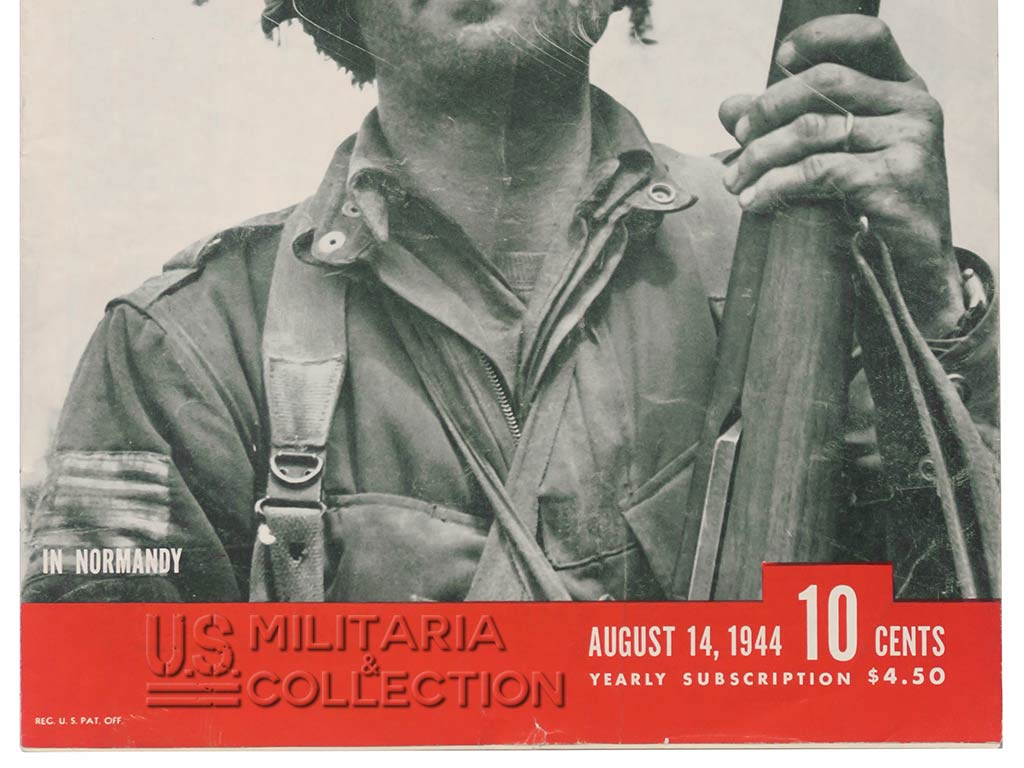 Magazine Life août 1944. 508th PIR Normandie