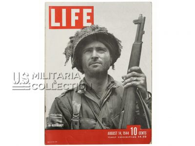 Magazine Life août 1944, Normandie 508th PIR