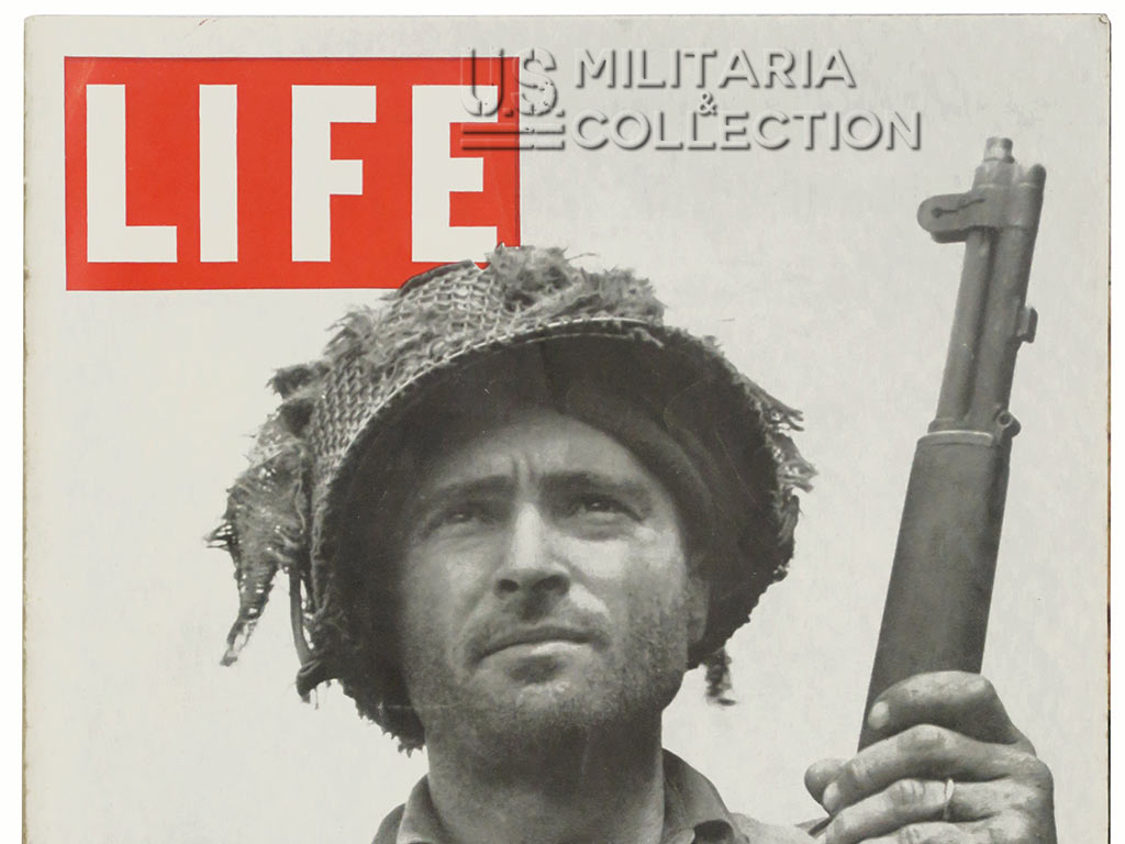 Magazine Life août 1944, Normandie 508th PIR