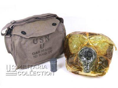 Masque anti-gaz US Navy Mark IV