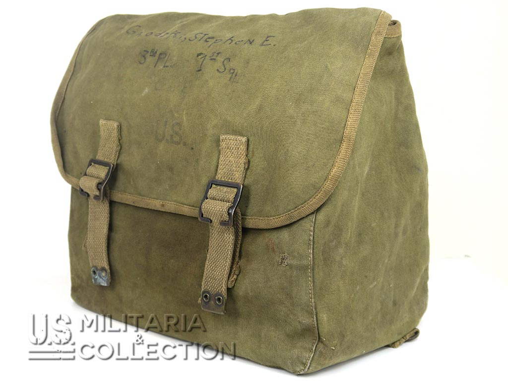 Musette M-1936 506th PIR, 101st, Nominative, British Made 1944.