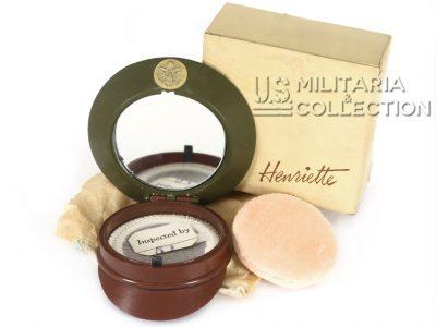 Poudrier US ARMY Henriette, Neuf de stock