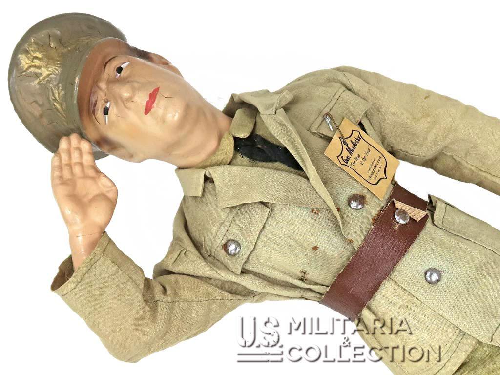 Poupée US Général Douglas MacArthur, 1942