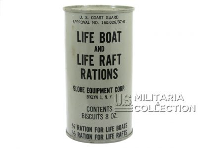 Boîte de rations US Coast Guards