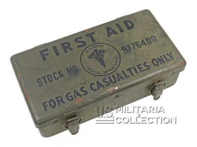 First-Aid For Gas Casualties, boite pour Jeep
