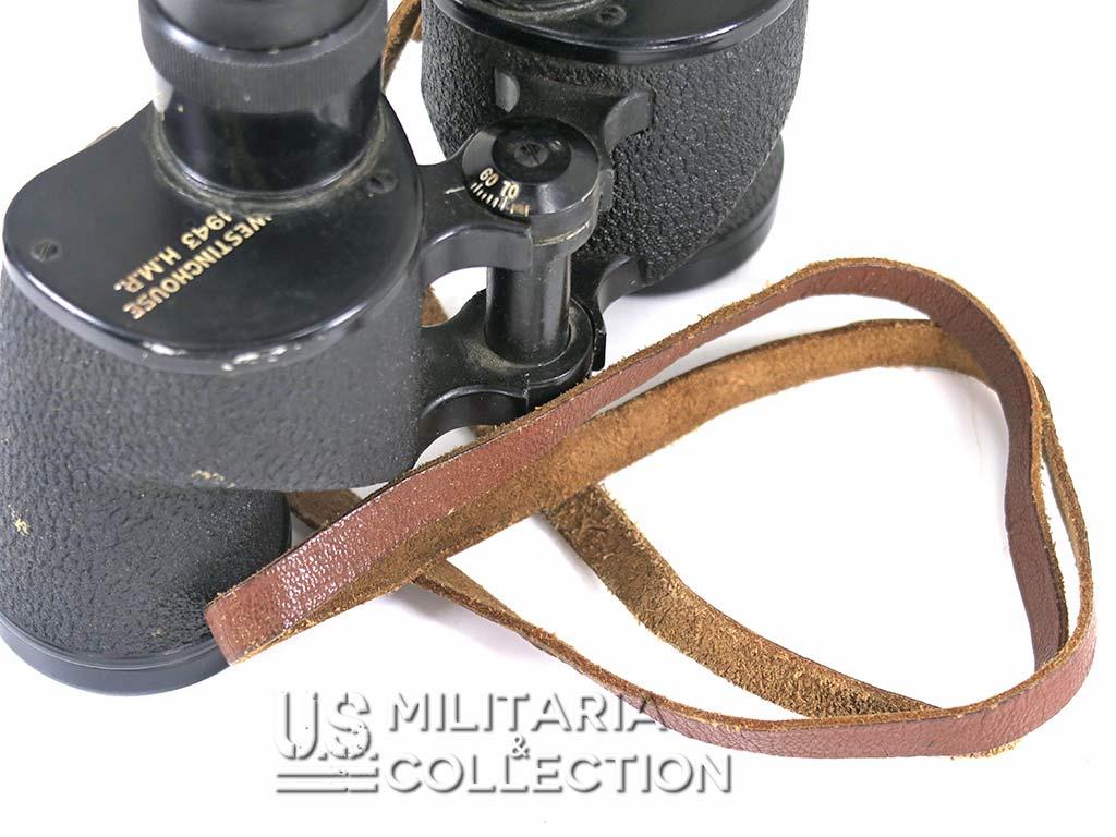 Jumelles US M3 Westinghouse, 1944 & étui M17