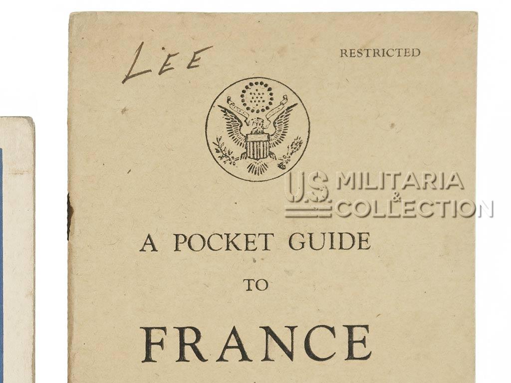 Livrets nominatifs Débarquement Normandie
