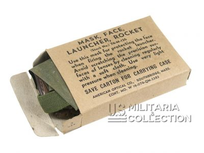 Masque Tireur Bazooka US Army, 1944