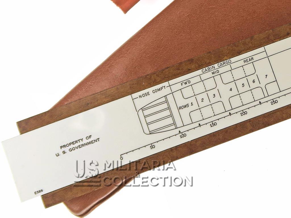Règle de Chargement, planeur Waco, USAAF