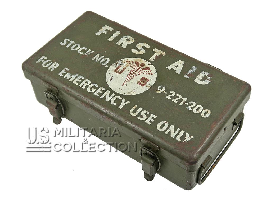 Boite First-Aid de jeep, 12 Uni