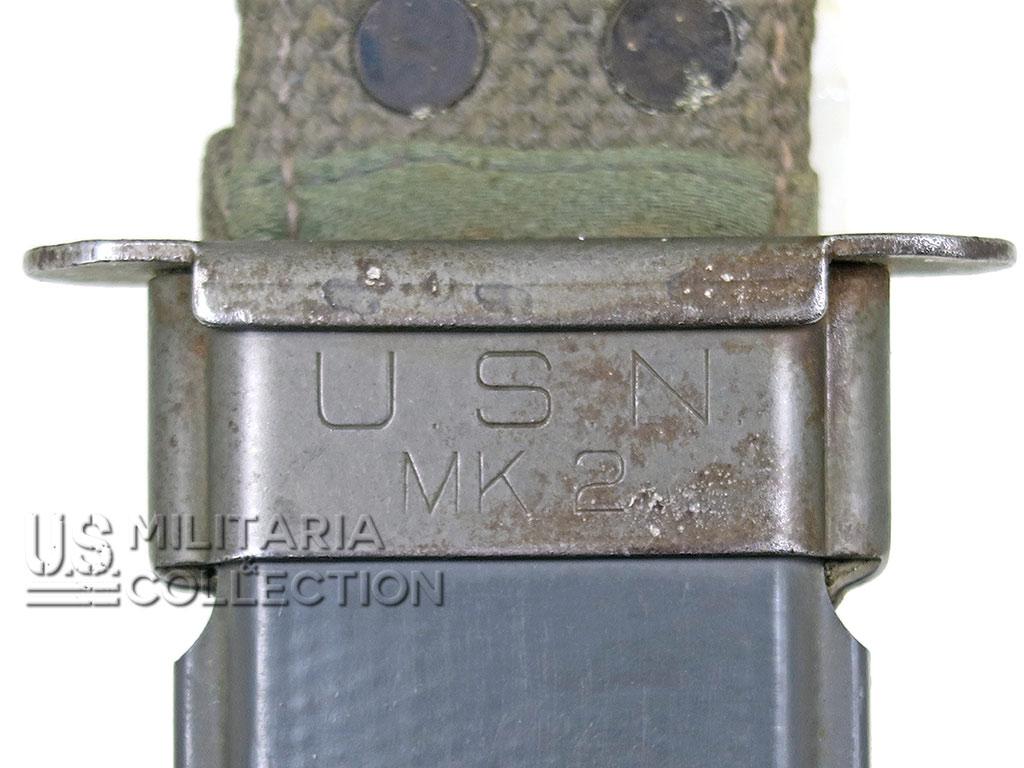 Couteau Camillus USN MK2, Marquage Lame