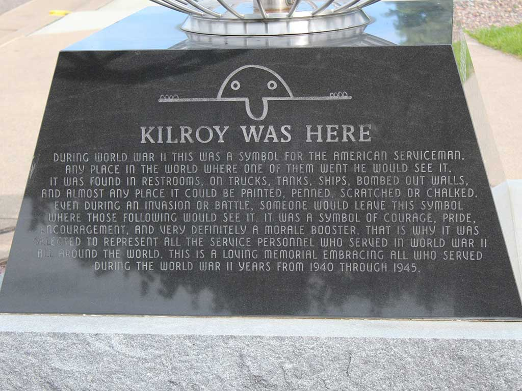 Kilroy Was Here statuette US
