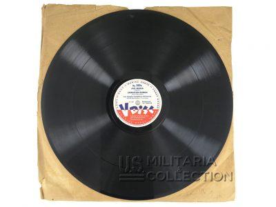 V-Disc Spécial Services Division US Army