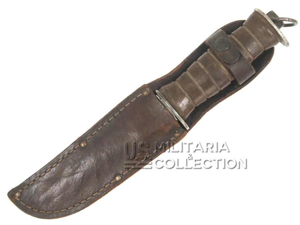 Couteau de combat US EGW manche en bois