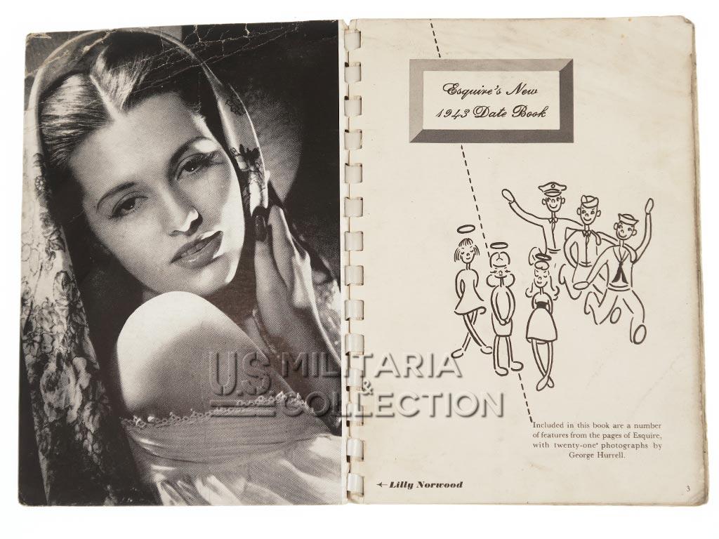 Esquire Agenda US Pin-up 1943
