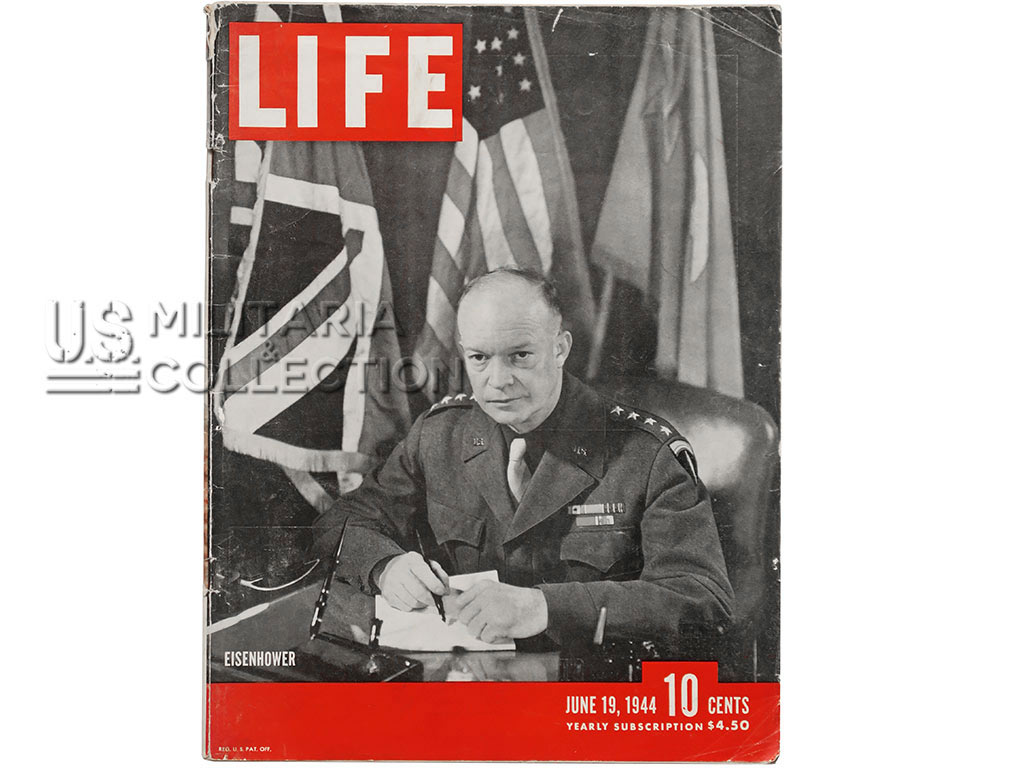 Magazine Life débarquement, photos de Robert Capa