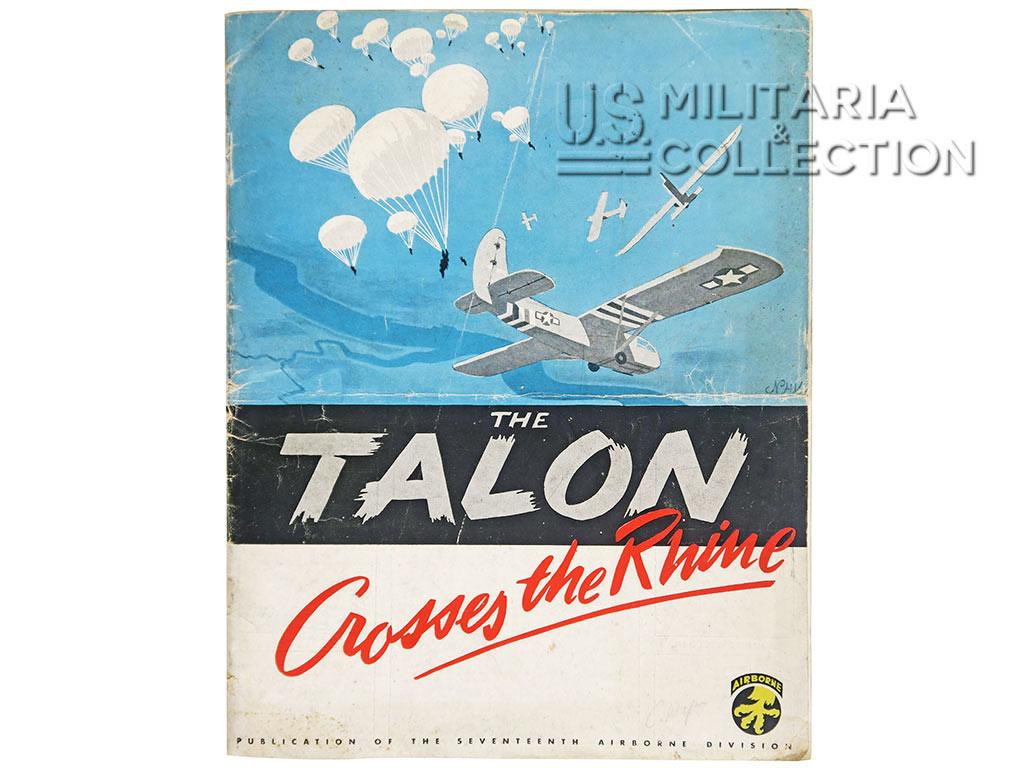 17e Airborne Division, The Talon cross the Rhine