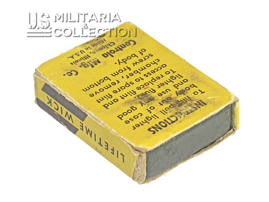Briquet US ARMY, Controla et sa boite
