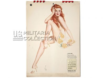 Calendrier Pin Up Varga 1945