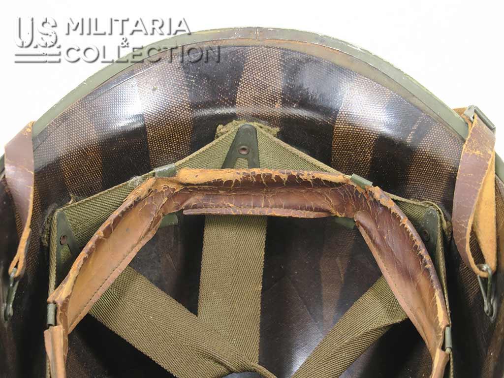 Casque USM1 camouflé, guerre du Pacifique