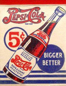 Cricket Pepsi Cola