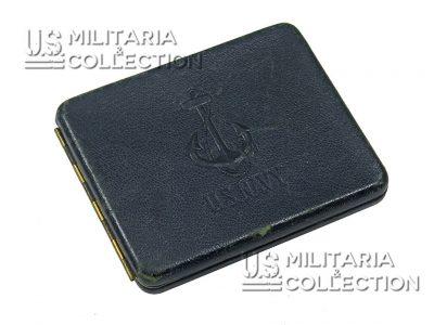 Étui à Cigarettes US Navy en cuir