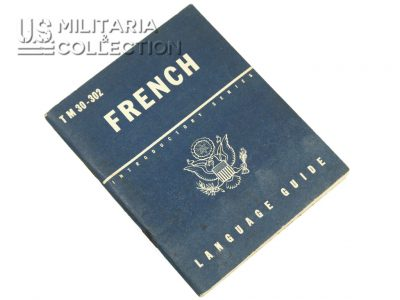 French Language Guide, 1943. Excellent état.
