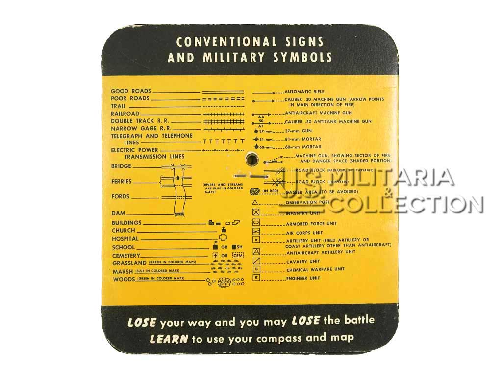 Guide utilisation boussole US ARMY